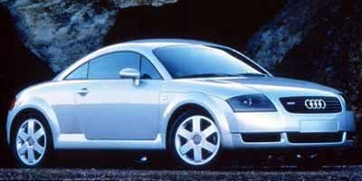 2000 Audi TT Base Turbocharged LockingLimited Slip Differential All Wheel Drive Tires - Front P