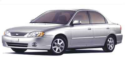 2002 Kia Spectra Base Front Wheel Drive Tires - Front All-Season Tires - Rear All-Season Tempora