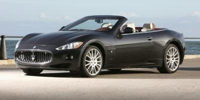 2014 Maserati GranTurismo Convertible  Rear Wheel Drive Active Suspension Power Steering ABS 4-