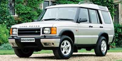 2002 Land Rover Discovery Series II SE Traction Control Four Wheel Drive Tow Hitch Tires - Front