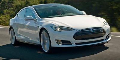 2014 Tesla Model S  Electric Motor Rear Wheel Drive Power Steering ABS 4-Wheel Disc Brakes Tir