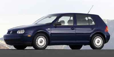 2002 Volkswagen Golf GLS Turbocharged Front Wheel Drive Tires - Front All-Season Tires - Rear Al