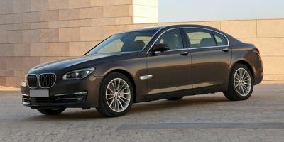 2015 BMW 7 Series 750i Black