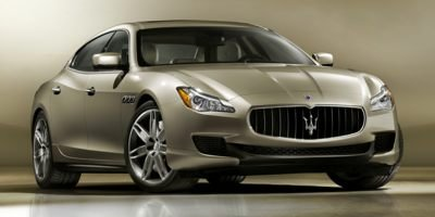 2015 Maserati Quattroporte S Q4 Turbocharged All Wheel Drive Active Suspension Power Steering A
