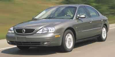 2002 Mercury Sable 4dr Sdn GS CLOTH SEATS  STD Front Wheel Drive Tires - Front All-Season Tire