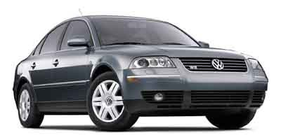 2002 Volkswagen Passat W8 4MOTION All Wheel Drive Traction Control Stability Control Tires - Fro