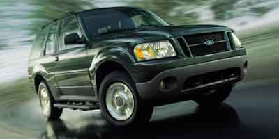 2003 Ford Explorer Sport  Rear Wheel Drive Tires - Front All-Season Tires - Rear All-Season Conv
