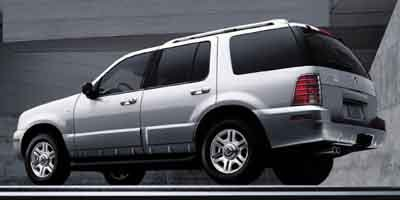 2003 Mercury Mountaineer Convenience Rear Wheel Drive Tow Hitch Tires - Front All-Season Tires -