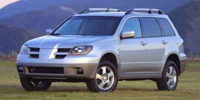 2003 Mitsubishi Outlander LS Front Wheel Drive Tires - Front All-Season Tires - Rear All-Season