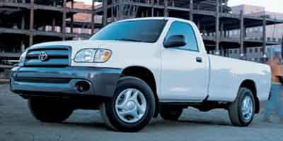 2003 Toyota Tundra  Rear Wheel Drive Tires - Front All-Season Tires - Rear All-Season Convention