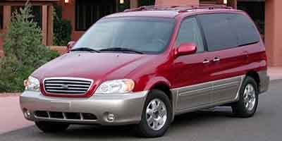 2003 Kia Sedona EX Front Wheel Drive Tires - Front All-Season Tires - Rear All-Season Aluminum W
