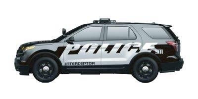 2014 Ford Utility Police Interceptor Base Ebony