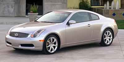 2003 Infiniti G35 Coupe 2dr Coupe with Leather 35L 6cyl 5A Traction Control Stability Control