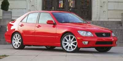 2003 Lexus IS 300 300 Rear Wheel Drive Traction Control Tires - Front Performance Tires - Rear P