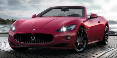 2014 Maserati GranTurismo Convertible Sport Rear Wheel Drive Active Suspension Power Steering AB