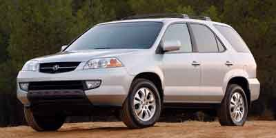 2003 Acura MDX Touring Pkg wNavigation System All Wheel Drive Tires - Front All-Season Tires - R