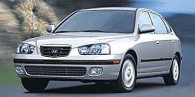2003 Hyundai Elantra 5dr Sdn GT Auto SULEV Front Wheel Drive Tires - Front All-Season Tires - Rea