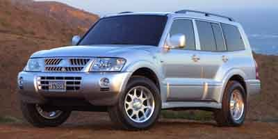2003 Mitsubishi Montero  Traction Control Four Wheel Drive Tow Hooks Tires - Front OnOff Road