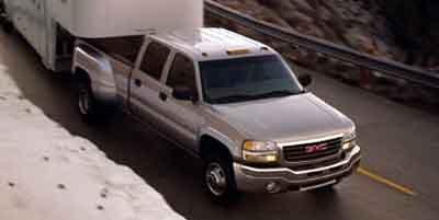 2004 GMC Sierra 3500  Four Wheel Drive Tow Hooks Dual Rear Wheels Tires - Front All-Season Tire
