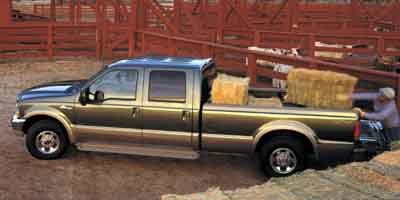 2003 Ford Super Duty F-250 CREW CAB 156 LARIAT 4WD Four Wheel Drive Tow Hooks Tires - Front All-S