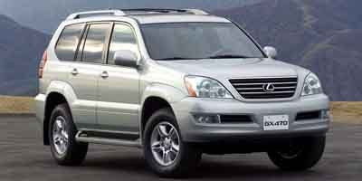 2003 Lexus GX 470  Traction Control Four Wheel Drive Air Suspension Active Suspension Tires - F