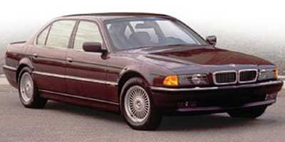 1997 BMW 7 Series 740il Rear Wheel Drive Traction Control Tires - Front All-Season Tires - Rear