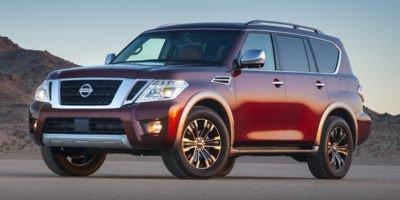 2018 Nissan Armada SV Rear Wheel Drive Tow Hitch Air Suspension Power Steering ABS 4-Wheel Dis