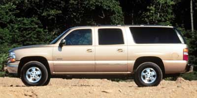 2000 Chevrolet Suburban  Rear Wheel Drive Conventional Spare Tire Power Steering 4-Wheel Disc Br