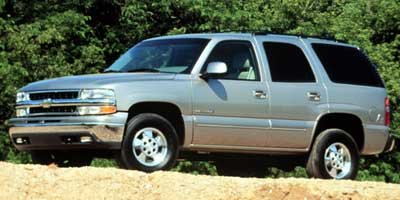 2000 Chevrolet New Tahoe  Rear Wheel Drive Conventional Spare Tire Aluminum Wheels Power Steerin