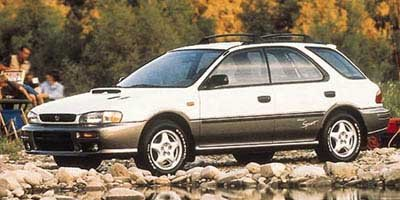 1997 Subaru Impreza Wagon Outback Sport All Wheel Drive Tires - Front All-Season Tires - Rear All