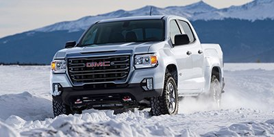 2021 GMC Canyon 4WD AT4 w/Leather 4WD Crew Cab 141″ AT4 w/Leather Turbocharged Diesel I4 2.8L/169 [1]