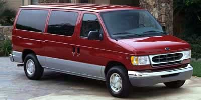 2000 Ford Econoline Wagon XLT 68L EFI V10 ENGINE  -inc 78-amp hour battery Rear Wheel Drive Tir