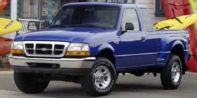 2000 Ford Ranger XLT Four Wheel Drive Tow Hooks Tires - Front All-Terrain Tires - Rear All-Terra