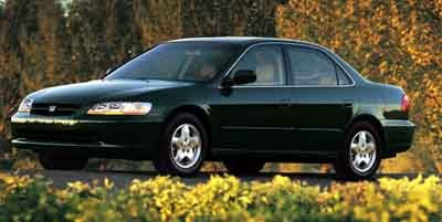 2000 Honda Accord Sdn LX Front Wheel Drive Engine Immobilizer Tires - Front Performance Tires -