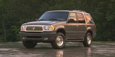 1999 Mercury Mountaineer 112 WB AWD All Wheel Drive LockingLimited Slip Differential Tires - Fro