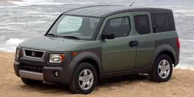 2003 Honda Element EX Front Wheel Drive Engine Immobilizer Tires - Front All-Season Tires - Rear