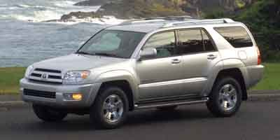 2003 Toyota 4Runner Limited Rear Wheel Drive Tow Hitch Traction Control Tires - Front OnOff Roa
