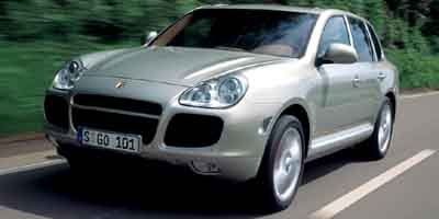 2003 Porsche Cayenne Turbo Turbocharged All Wheel Drive Air Suspension Active Suspension Tires