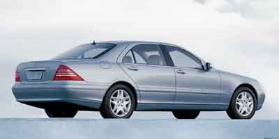 2003 Mercedes S-Class 43L Traction Control Stability Control Rear Wheel Drive Air Suspension A