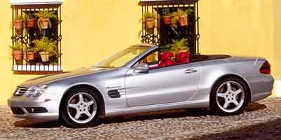 2003 Mercedes SL-Class AMG Supercharged Traction Control Stability Control Rear Wheel Drive Air