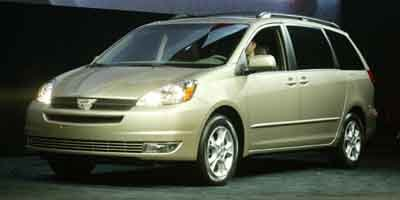 2004 Toyota Sienna XLE Front Wheel Drive Tires - Front All-Season Tires - Rear All-Season Tempor