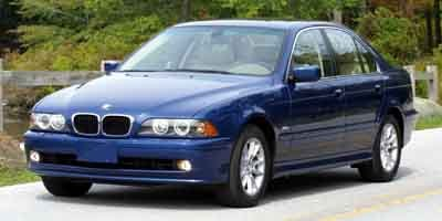 2003 BMW 5 Series 525iA Traction Control Stability Control Rear Wheel Drive Tires - Front Perfor