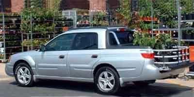 2003 Subaru Baja Sport All Wheel Drive LockingLimited Slip Differential Tires - Front OnOff Roa