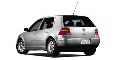 2003 Volkswagen Golf GLS Turbocharged Traction Control Front Wheel Drive Tires - Front All-Seaso