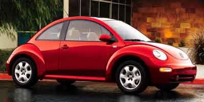 2003 Volkswagen New Beetle Coupe GLS Turbocharged Traction Control Front Wheel Drive Tires - Fro