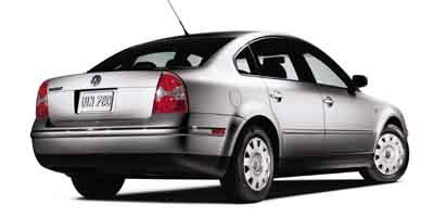 2003 Volkswagen Passat GL Turbocharged Traction Control Front Wheel Drive Tires - Front All-Seas