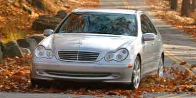 2003 Mercedes C-Class 18L Supercharged Rear Wheel Drive Traction Control Stability Control Pow