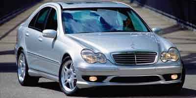 2003 Mercedes C-Class 32L AMG Supercharged Rear Wheel Drive Traction Control Stability Control