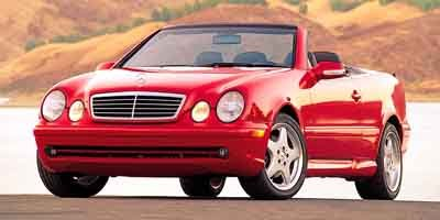 2003 Mercedes CLK-Class 43L Traction Control Stability Control Rear Wheel Drive Tires - Front P