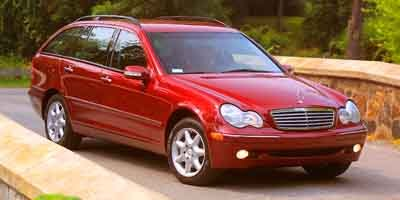 2003 Mercedes C-Class 32L Rear Wheel Drive Traction Control Stability Control Tires - Front Per